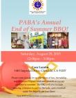 PABA Summer BBQ Flyer