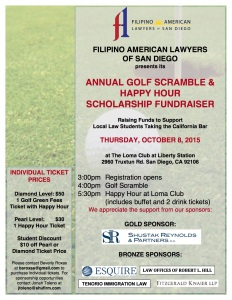 FALSD Golf Flyer 9-22-15